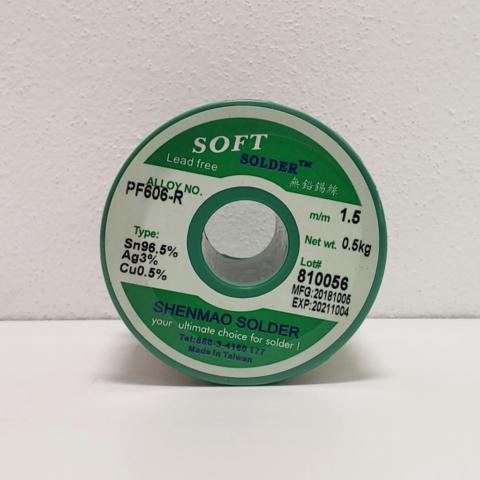 PF606R - Solder wire