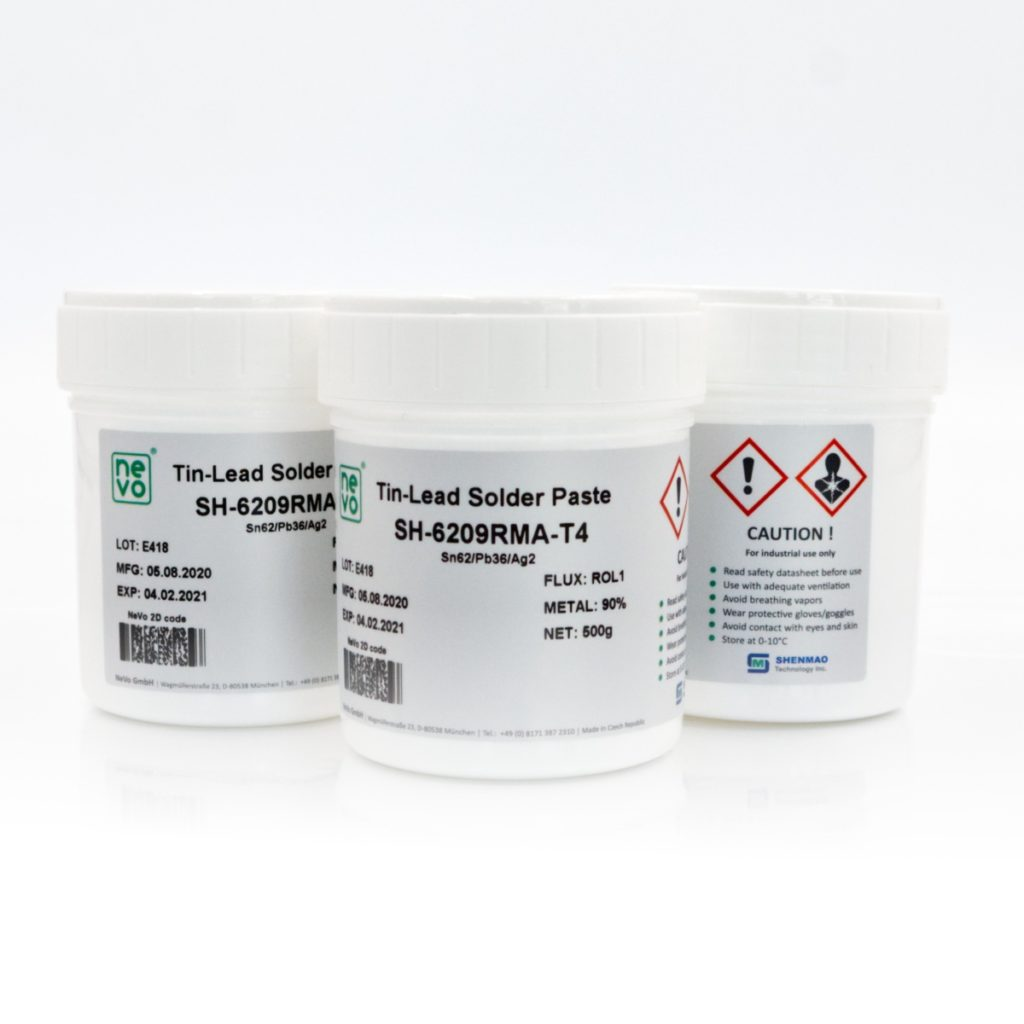 NeVo SH-62 Tin-Lead Solder Paste